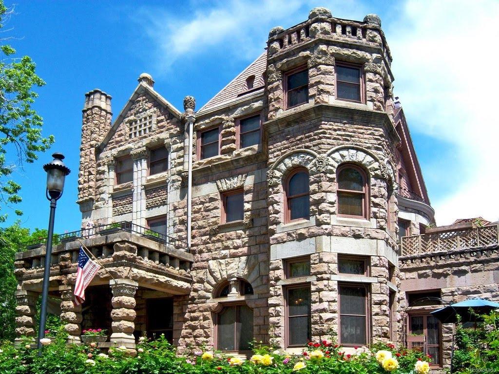 1886 Castle Marne For Sale In Denver Colorado