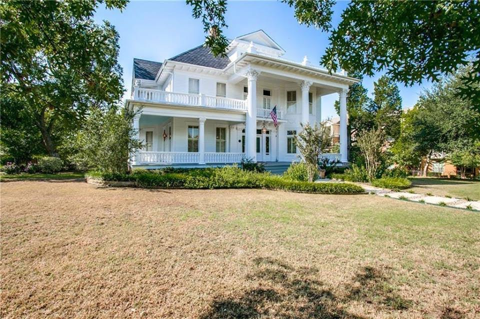 1903 Evers Mansion For Sale In Denton Texas