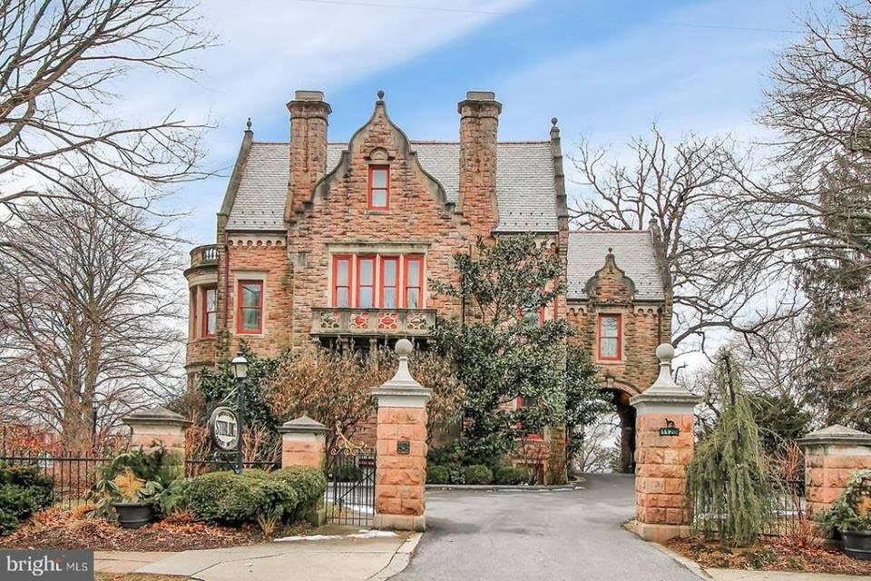 1892 Mansion In Reading Pennsylvania