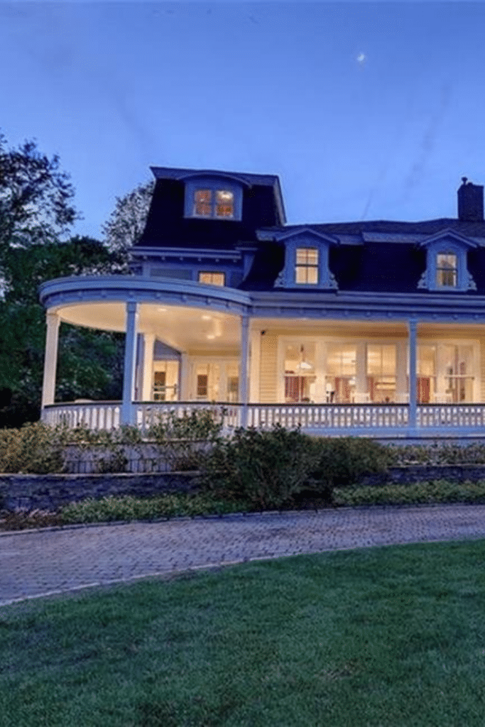 1873 Second Empire For Sale In Barrington Rhode Island