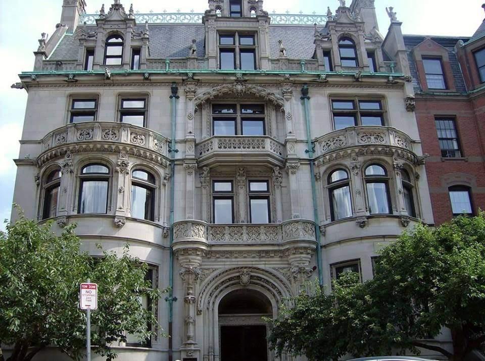 1899 Burrage Mansion In Boston Massachusetts