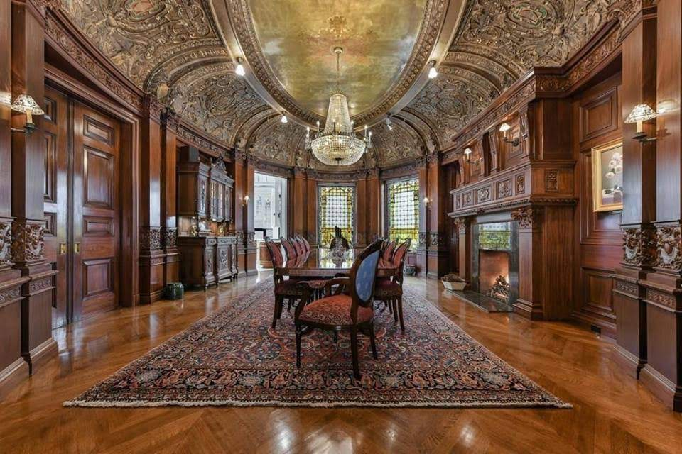 1899 Burrage Mansion For Sale In Boston Massachusetts