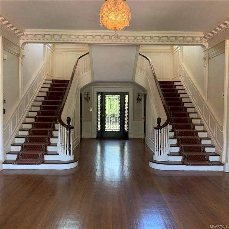 1915 Mansion For Sale In Montgomery Alabama