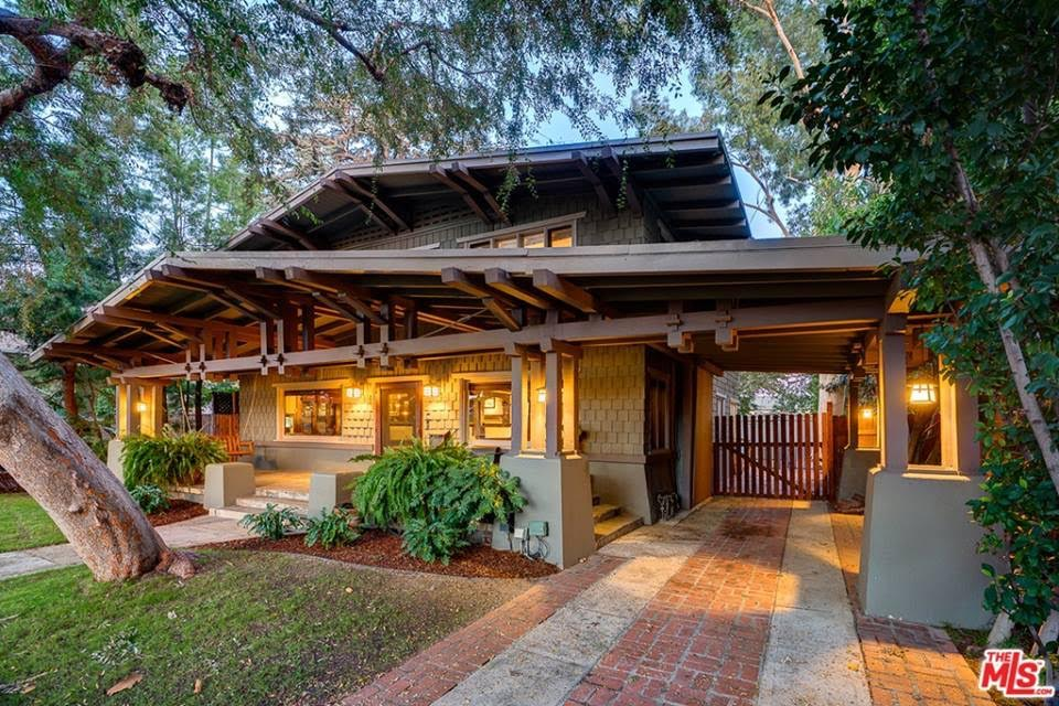 1910 Craftsman For Sale In Los Angeles California