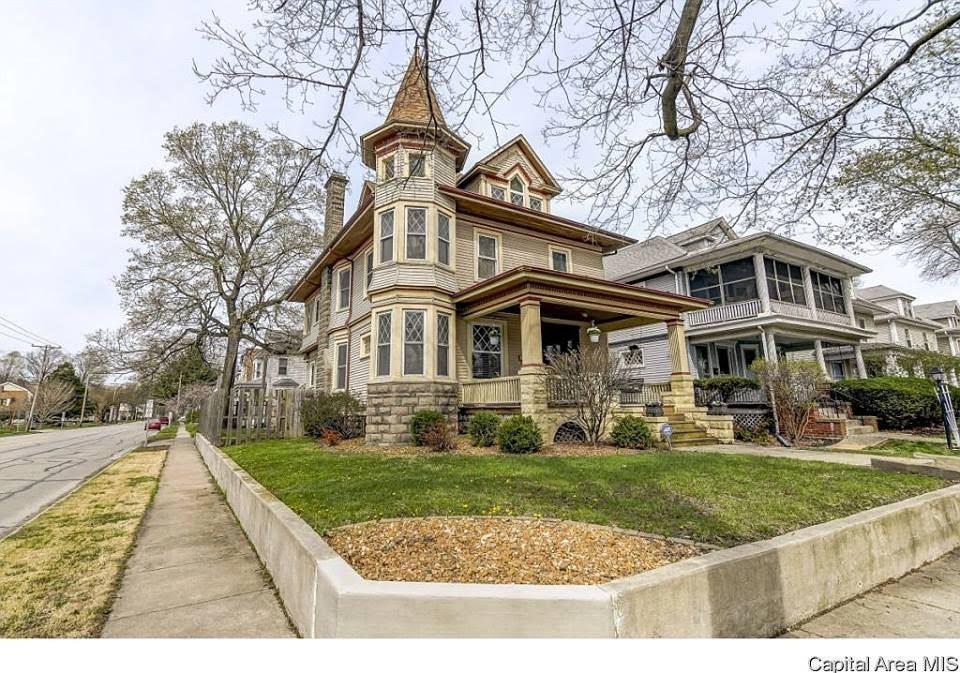 1884 Victorian For Sale In Springfield Illinois