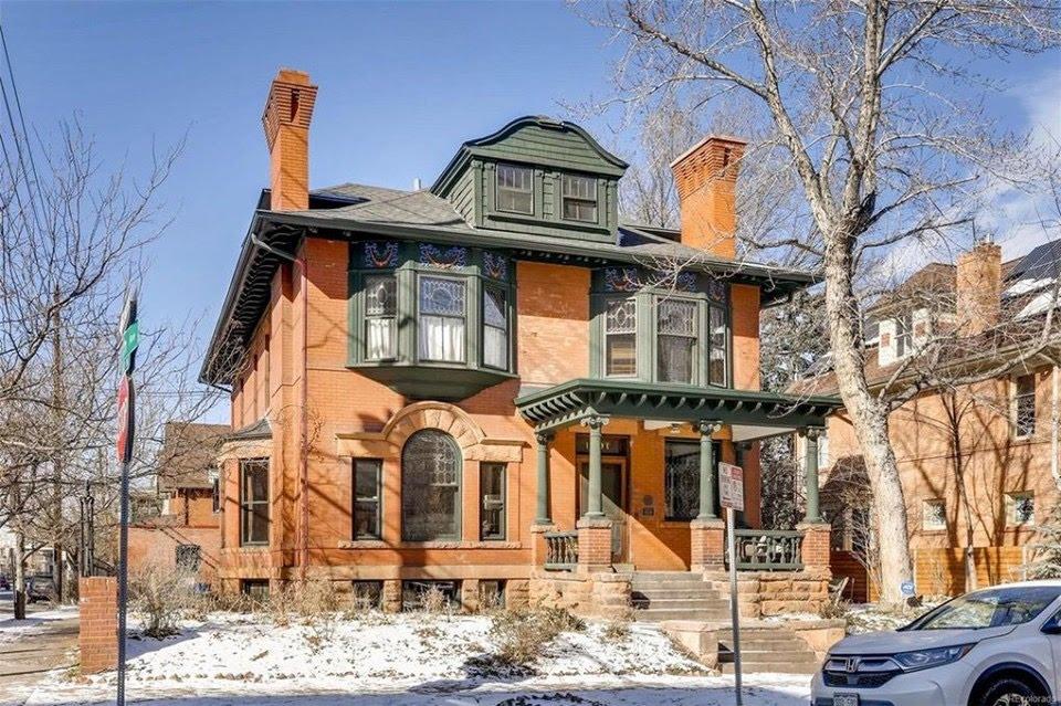 1890 Doyle-Benton House In Denver Colorado