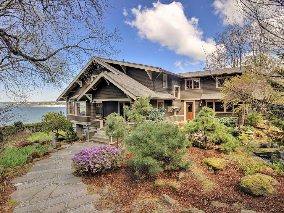 1910 Waterfront Craftsman In Bellingham Washington