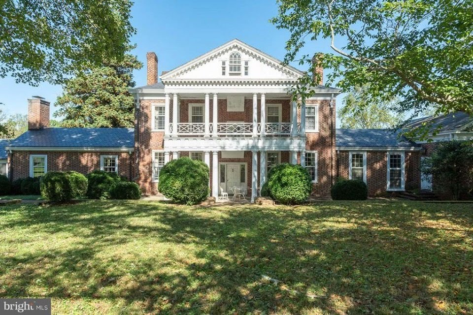 1808 Georgian For Sale In Scottsville Virginia