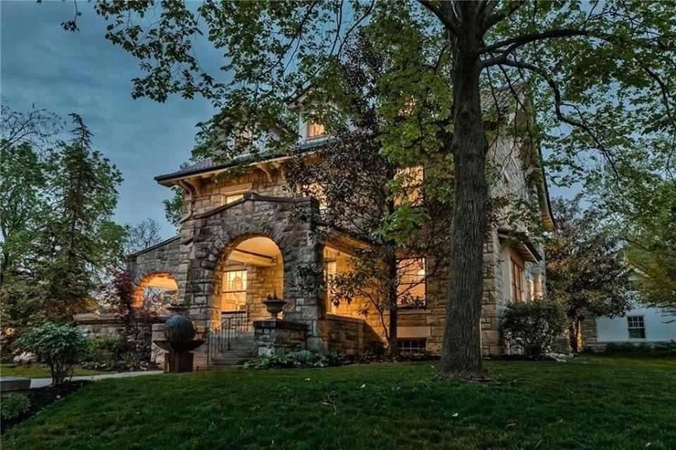 1913 Stone House For Sale In Kansas City Missouri
