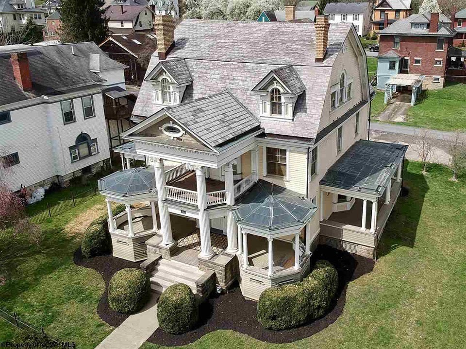1900 Mansion For Sale In Fairmont West Virginia