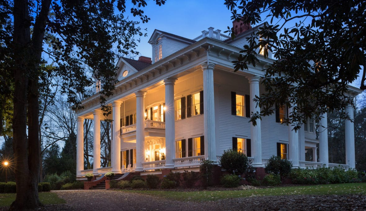 """1836 Twelve Oaks Inspiration for """"Gone With The Wind"""" In Covington Georgia"""