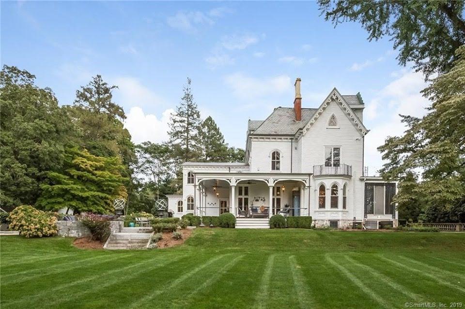 1856 Gothic Victorian In Darien Connecticut