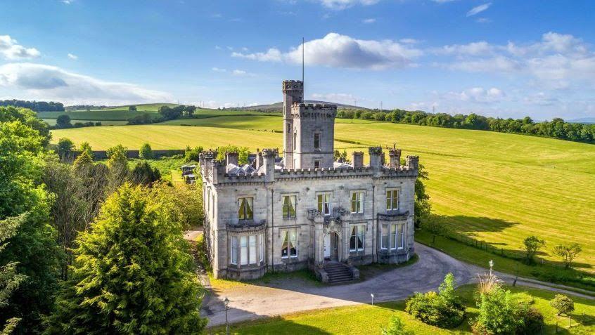 1866 Dalmoak Castle In Dumbarton Scotland
