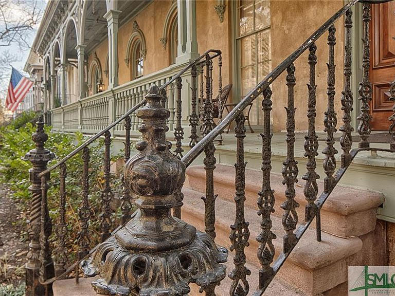 1876 Italianate For Sale In Savannah Georgia