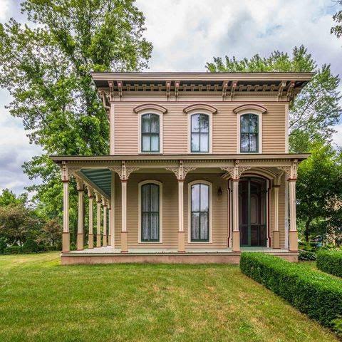 1869 Italianate In Lexington Illinois