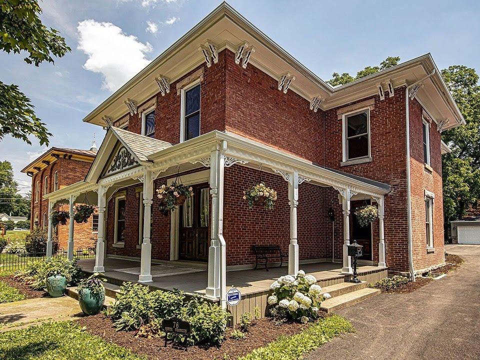 1867 Italianate For Sale In Delaware Ohio