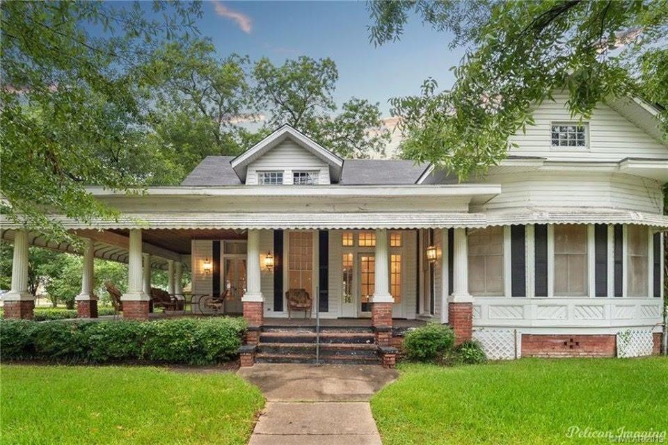1894 Historic House In Greenwood Louisiana