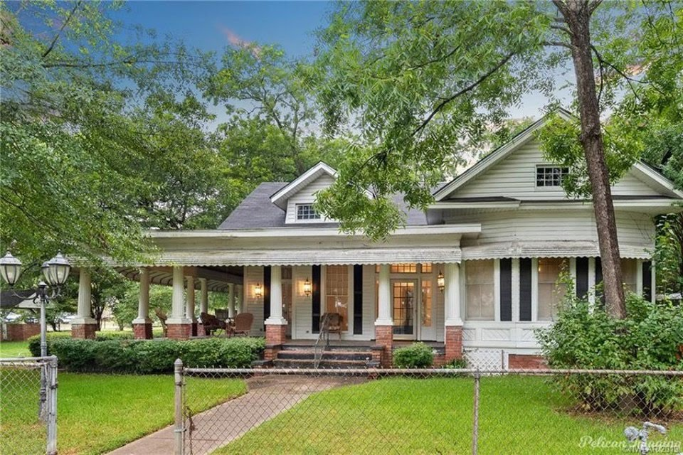 1894 Historic House For Sale In Greenwood Louisiana