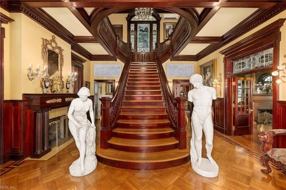 1914 Neoclassical Mansion For Sale In Suffolk Virginia