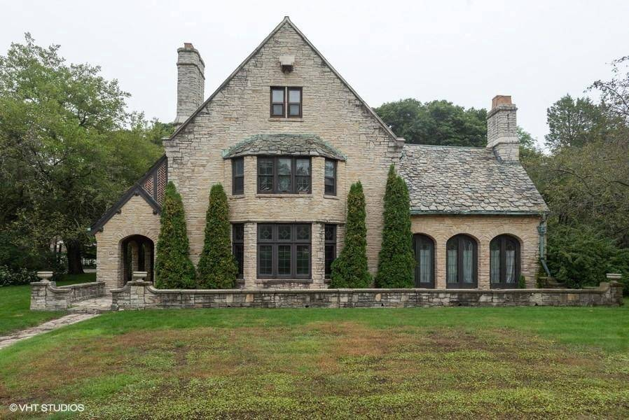 1927 Stone House In Manitowoc Wisconsin