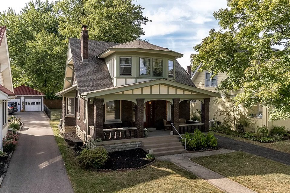 1917 Craftsman In Cincinnati Ohio