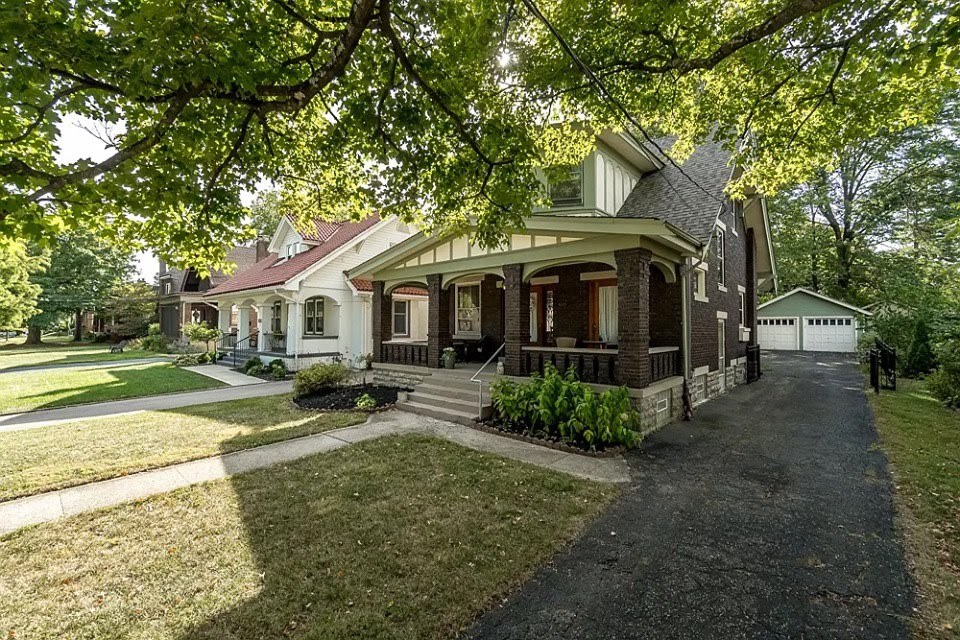 1917 Craftsman For Sale In Cincinnati Ohio