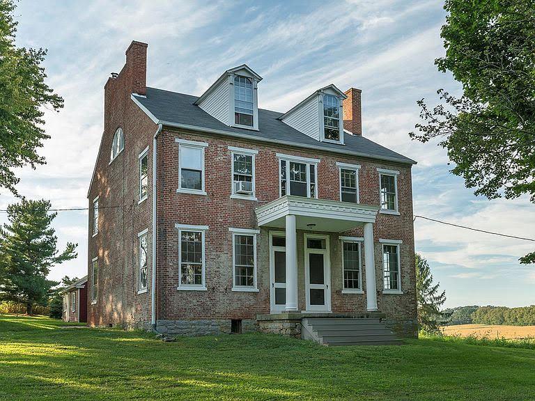 1830 Farmhouse For Sale In Marietta Pennsylvania