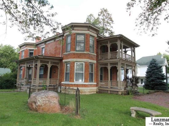 1890 Italianate In Auburn Nebraska