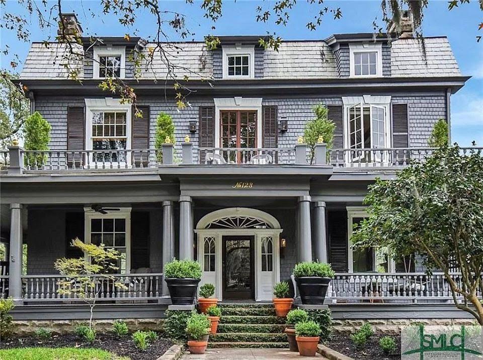1912 Dutch Colonial In Savannah Georgia