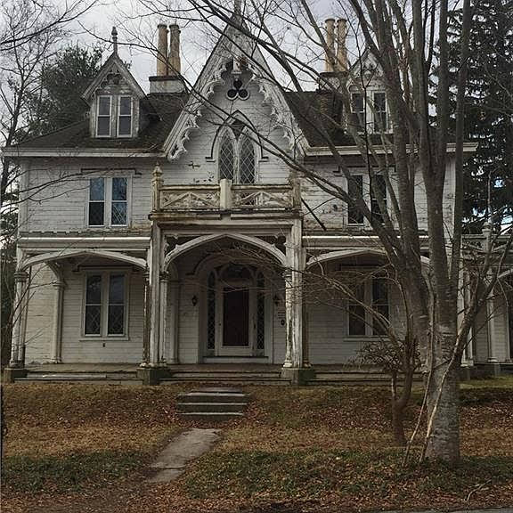 1845 Gothic Revival For Sale In Thompson Connecticut