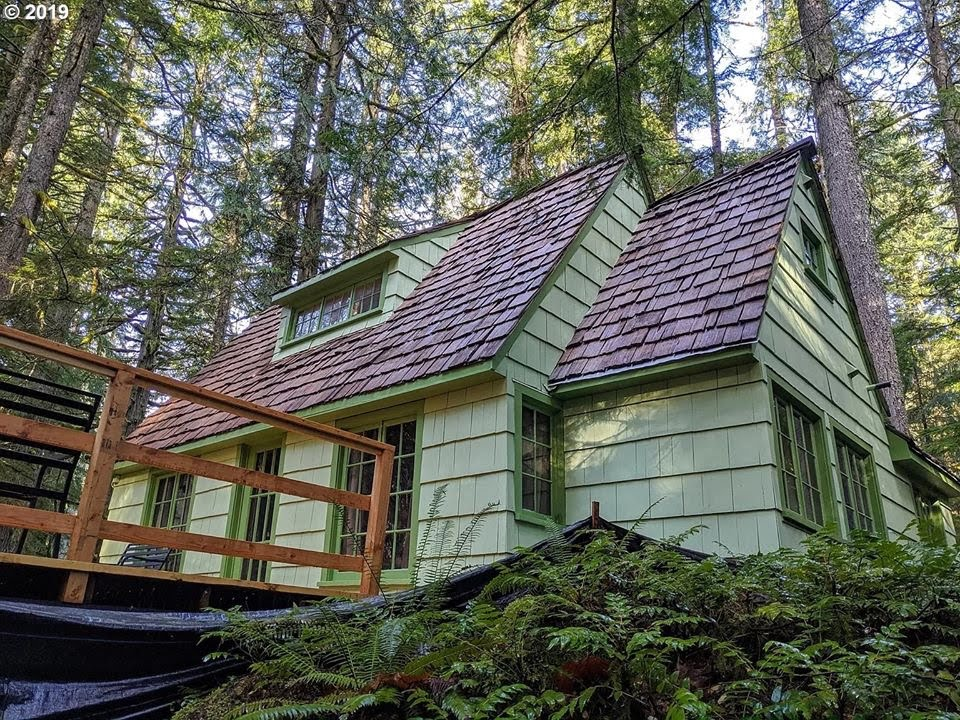 1935 Cabin For Sale In Government Camp Oregon