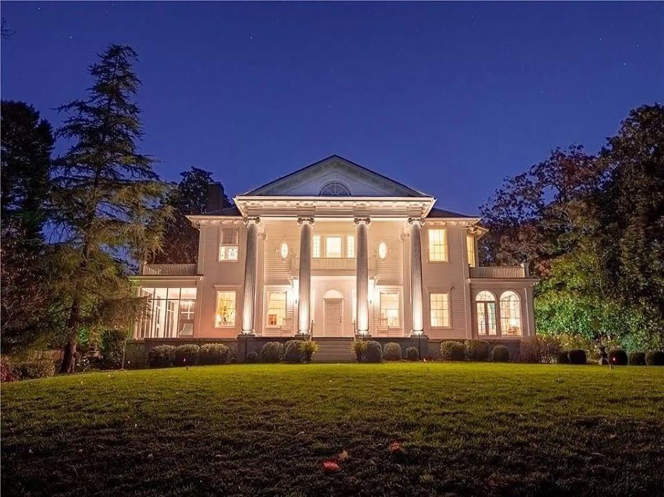 1913 Neoclassical Spotswood Hall For Sale In Atlanta Georgia