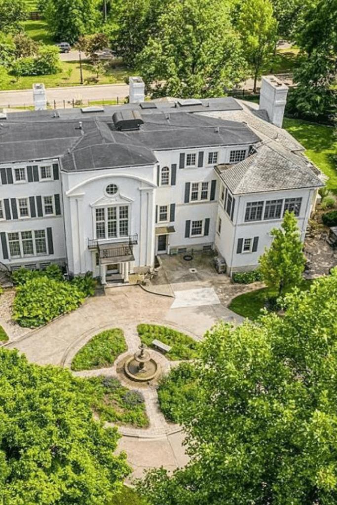 1914 Kresge Mansion For Sale In Detroit Michigan