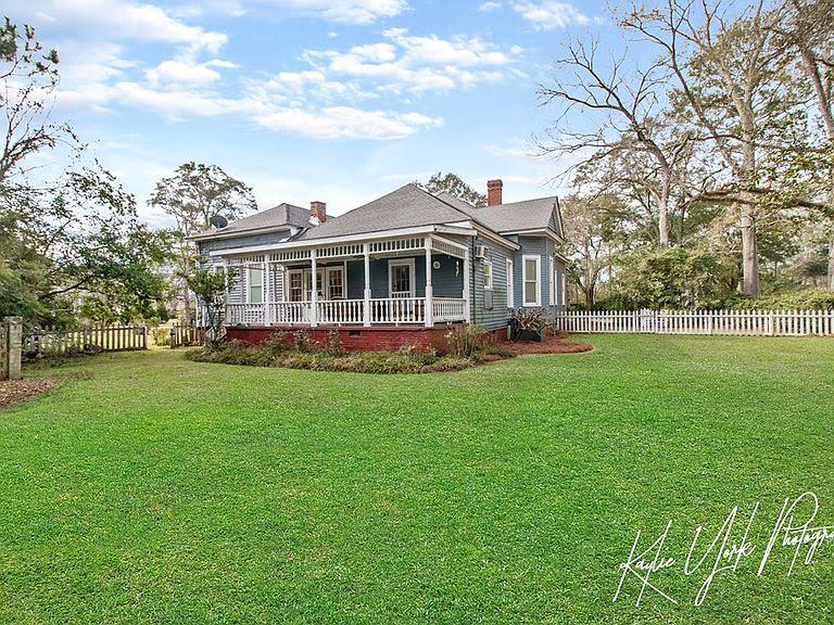 1872 Victorian For Sale In Eufaula Alabama