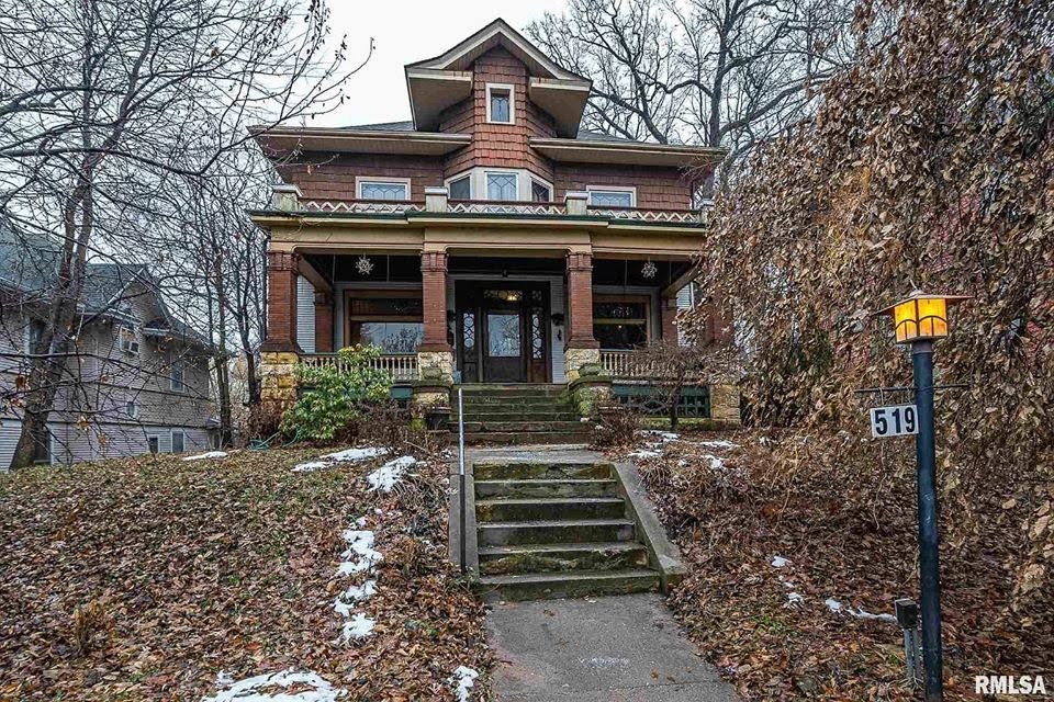 1900 Victorian For Sale In Davenport Iowa