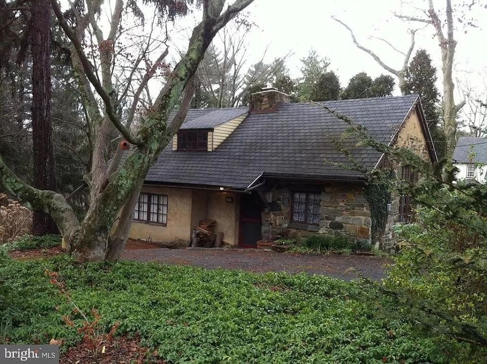 1907 Cottage For Sale In Rose Valley Pennsylvania