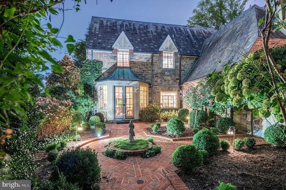 1931 Tudor Revival For Sale In Chevy Chase Maryland