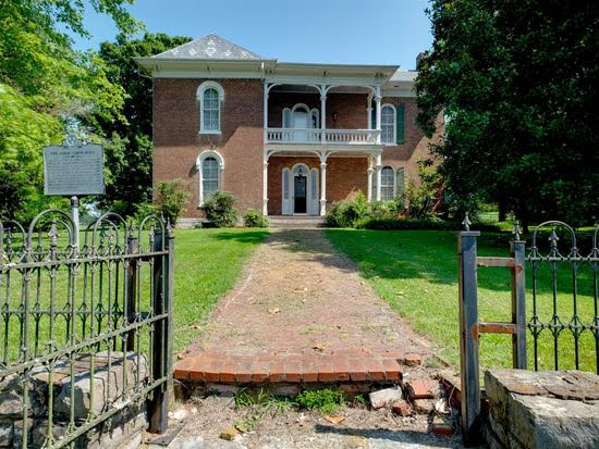 1854 Vinewood Plantation For Sale In Hartsville Tennessee
