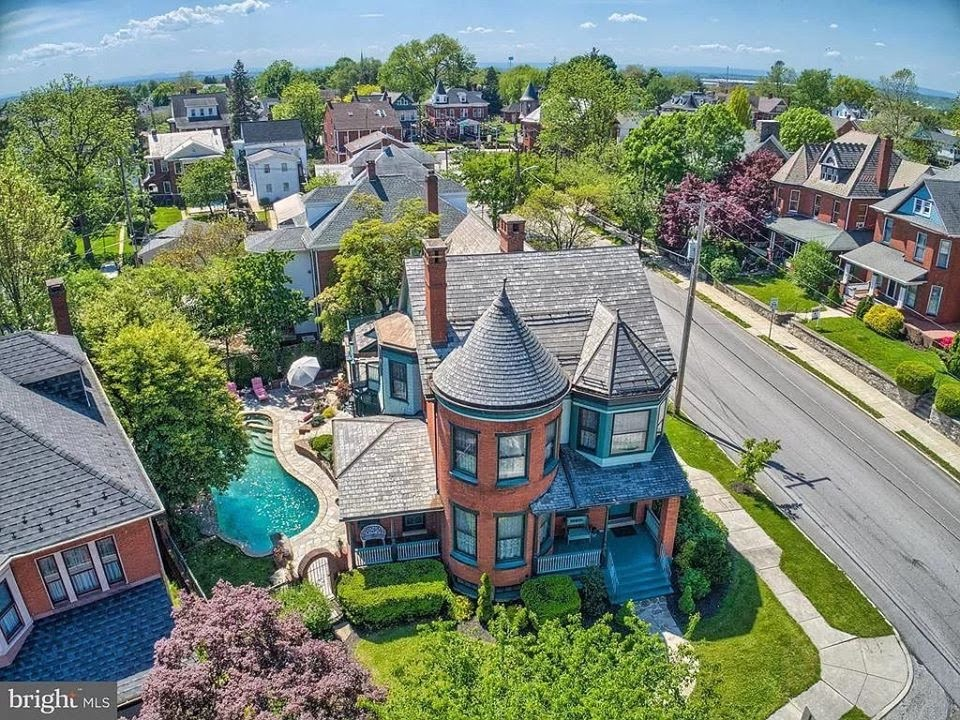 1896 Victorian For Sale In Hanover Pennsylvania
