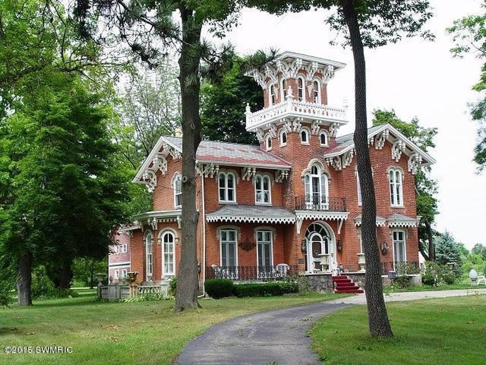 1864 Italianate For Sale In Hudson Michigan