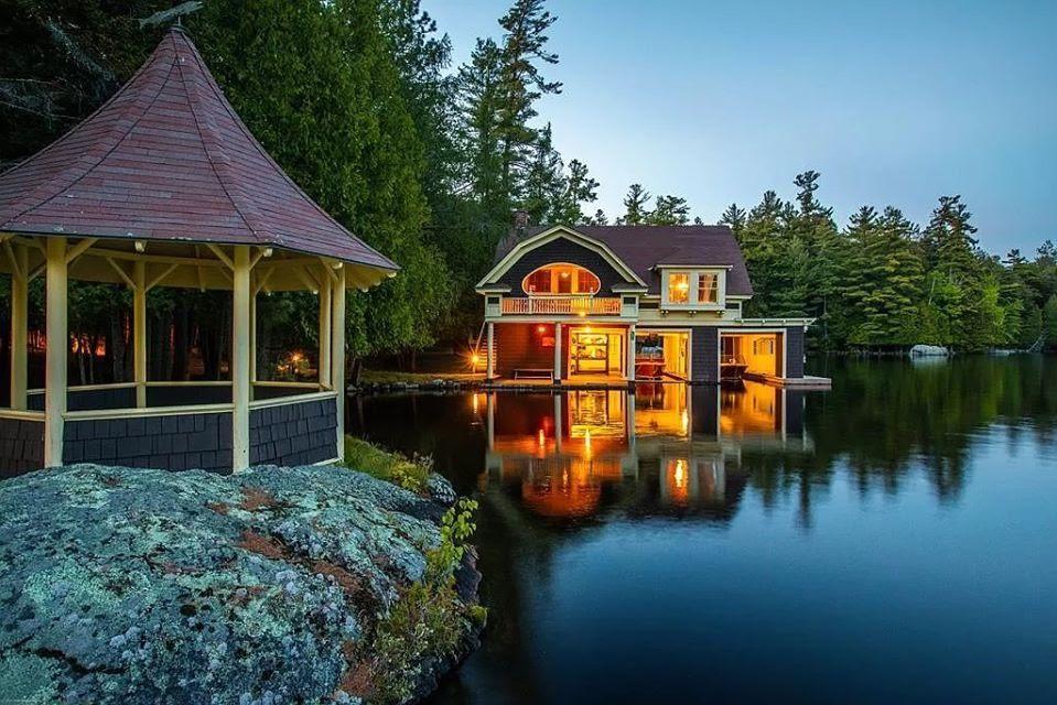 1898 Lake House For Sale In Saranac Lake New York