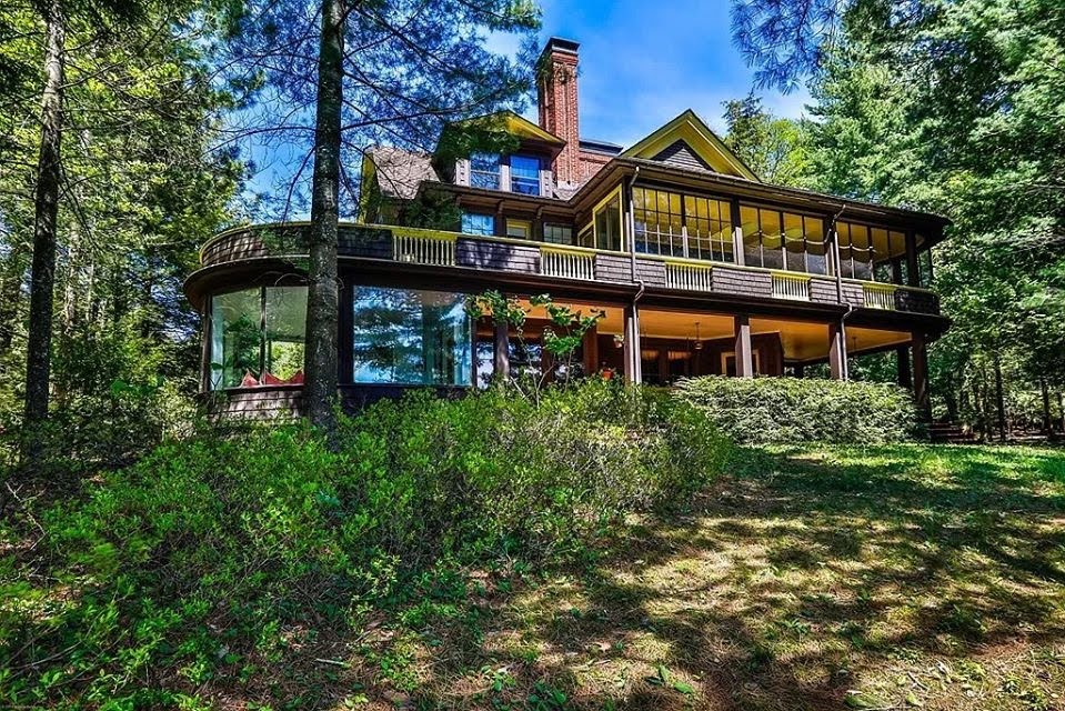1898 Lake House For Sale In Saranac Lake New York