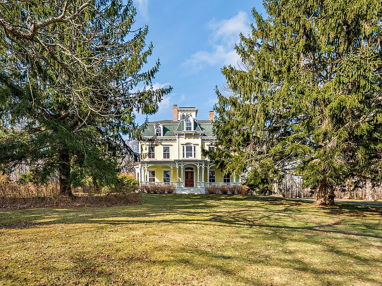 1850 Second Empire For Sale In Tiverton Rhode Island