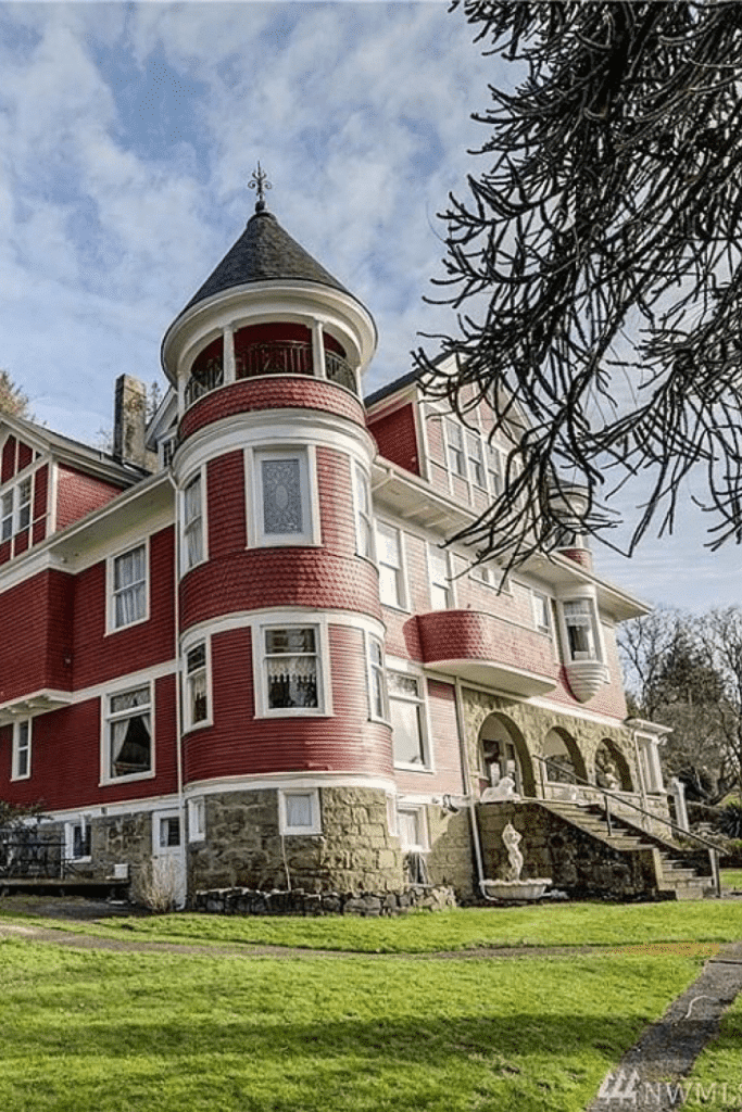 1900 Hoquiam Castle For Sale In Hoquiam Washington