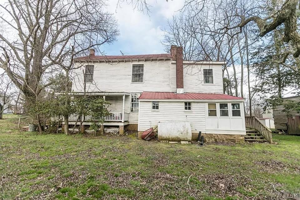 1834 Fixer Upper For Sale In Pamplin Virginia