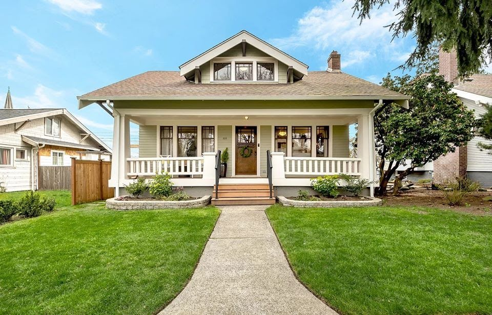 1922 Craftsman In Tacoma Washington