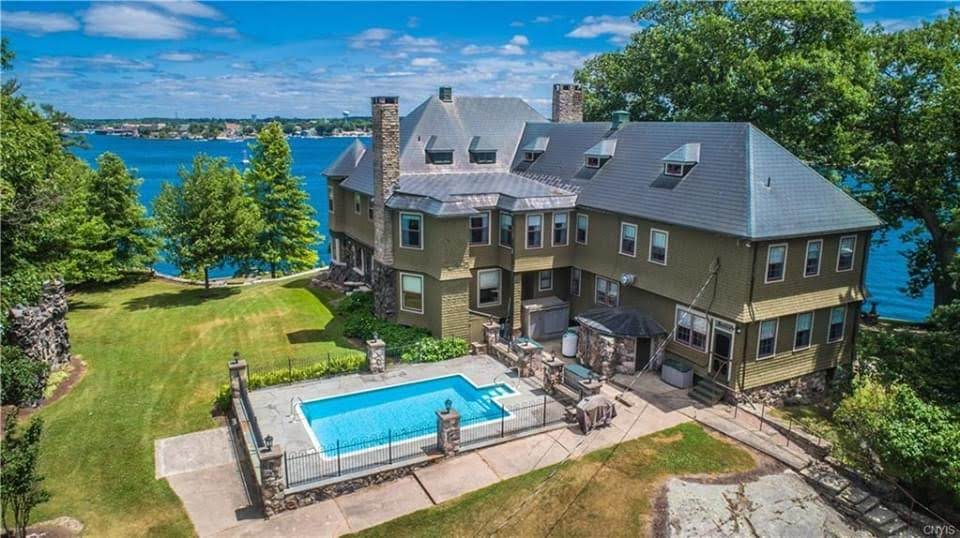 1910 Mansion For Sale In Wellesley Island New York