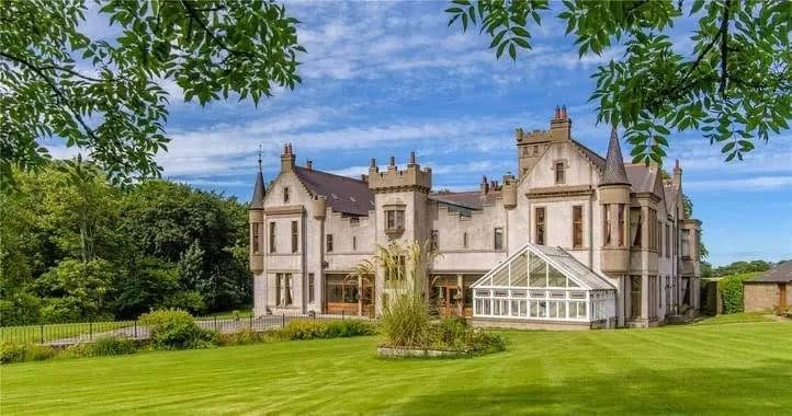 1900 Tillycorthie Mansion House For Sale In Aberdeenshire Scotland