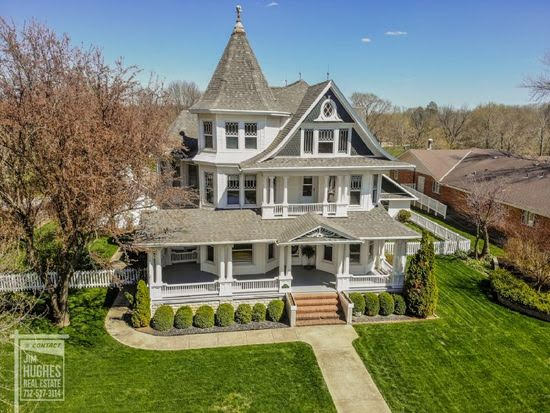 1910 Historic House For Sale In Shenandoah Iowa