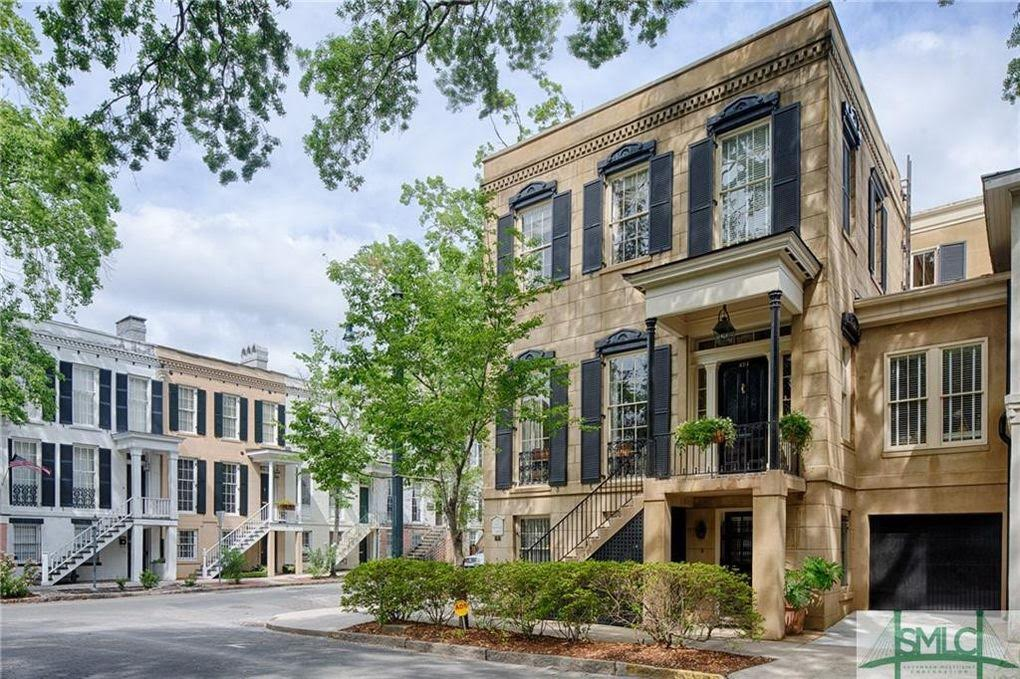 1859 Historic Home For Sale In Savannah Georgia